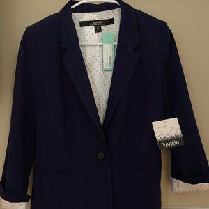 Stitch fix Navy blue Kensie blazer.